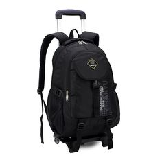 56.98$  Watch now - http://ailnr.worlditems.win/all/product.php?id=32328016446 - Middle School Backpacks Students Pull Rod Bags With Wheels Knapsack Trolley Bag Backpack Pupil 3-6 Junior School Backpacks