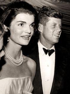 John & Jackie Kennedy