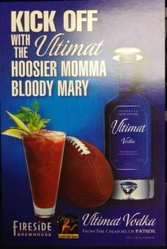 Ultimat Vodka and Hoosier Momma make a great team!