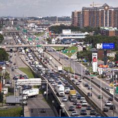 Des niveaux de bruit à Montréal qui dépassent les normes de l'OMS pour la santé