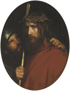 The Mocking of Christ by Carl Bloch