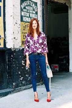 Estou vendo muito a Estampa Floral neste Outono Inverno! Na última coleção especial da C&A: Maria Filó para C&A, na Zara e em outras lojas já...