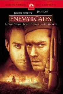 Enemy At The Gates :: Two Russian and German snipers play a game of cat-and-mouse during the Battle of Stalingrad. Fascinating, but depressing war drama. Not just, but also a great movie for the participation of Rachel Weisz.