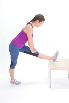 Stretch out your hamstrings to decrease back pain. The muscles on the back of your thighs get tight from sitting and driving. Find relief with these five, easy stretches.