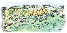 Eagle Creek Map