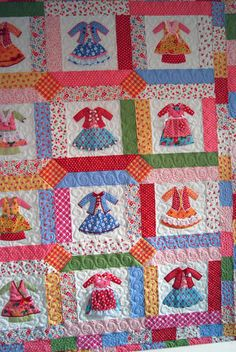 The level of skill involved - awesome.  Dollclothes plus quilting.