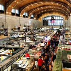 The historical West Side Market is such a fun shopping experience. An amazing selection of food, I never leave empty-handed.