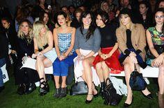 Topshop Unique - Front Row: London Fashion Week SS14