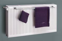 XIMAX Handtuchhalter für Kompaktheizkörper, in Chrom