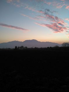 Mount Olympus, Northern Greece - Dec. 20 2014 - from Peristasi, Pieria