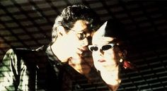 David Bowie and Catherine Deneuve in The Hunger (1983) <3