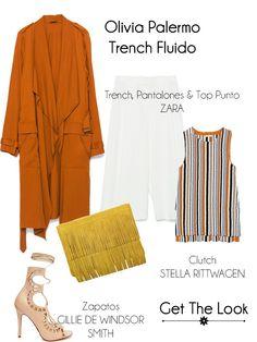 Get The Look: Olivia Palermo, Trench Fluido www.yohanasant.es Personal Shopper en Asturias