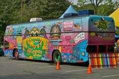 Crayola Crayon Bus