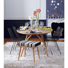 reed zinc chair in dining chairs, barstools | CB2