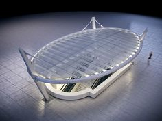 Metro Red Line Station Canopies by Steven Casano, via Behance