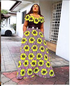 LATEST STYLES FOR FASHION LOVER Ankara Long Gown Styles, Trendy Ankara Styles, Latest African Fashion Dresses, African Print Dresses, African Dresses For Women, African Print Fashion, African Attire, African Prints, Ankara Fashion