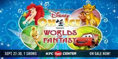 Disney on Ice Winners! Claim by 5pm on 9/26!