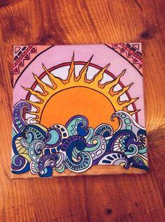 hippie painting ideas 427490189629407468 - Source by evrocklive Hippie Painting, Trippy Painting, Hippie Drawing, Diy Canvas, Canvas Art, Acrylic Canvas, Ocean Canvas, Canvas Ideas, Doodle Canvas