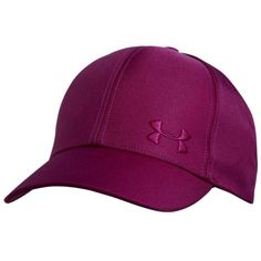 Under Armour Women's UA Simple Cap ($22) ❤ liked on Polyvore featuring accessories, hats, aubergine, adjustable snapback hats, snapback cap, caps hats, snap back hats and polyester hat