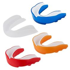 Adult Mouth Guard Silicone Teeth Protector Mouthguard For Boxing Sport Football Basketball Hockey Karate Muay Thai Football And Basketball, Hockey, Karate Kick, Mouth Guard, Taekwondo, Muay Thai, Ufc, Teeth, Red And White