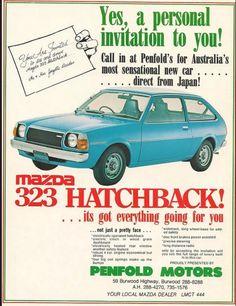 1978 Mazda 323 Hatch