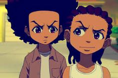 Boondocks Huey & riley Cool art & anime Pinterest