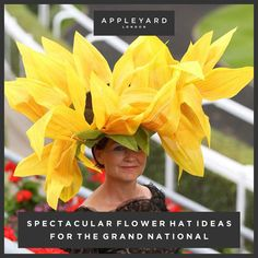 Spectacular Flower Hat Ideas For The Grand National 2015