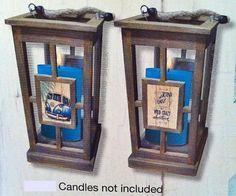 Kombi Revival Wooden Lantern Candle Holder by Lisa Pollock Wooden Lanterns, Candle Lanterns, Soy Candles, Houseboat Ideas, Metal Garden Art, Lantern Candle Holders, Beach House Decor, Home Decor, Bar Signs