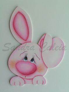 """Bom dia,  Apresento-vos ocasal """"Pink and Blue"""", mais dois coelhinhos fofinhos da coleção Páscoa 2012...  Depois do coelhinho na cesta resol..."""