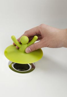 The Buddy Bath Plug is functional, and also a fun design item for bath time.