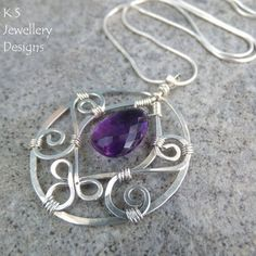 This tutorial shows you how to create an elegant BLOSSOM DROP PENDANT with close-up photos and detailed step-by-step instructions. It is ideal for a beginner/improver as it includes a number of WIREWORK TIPS to help you master some of the techniques of shaping wire, making spirals, hammering and wrapping wire. The tutorial also includes guidance on how to adapt my design to create MANY DIFFERENT BLOSSOM DROP VARIATIONS OF EARRINGS AND PENDANTS. NB. Plated wire is NOT recommended for th...
