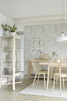 Borosan Easy Up 2014 - 37715 - Tapet - Tapet - Stuvbutiken Kitchen Dining, Dining Table, Blank Walls, Textured Wallpaper, Designer Wallpaper, Scandinavian Design, Ikea, Interior Design, Inspiration