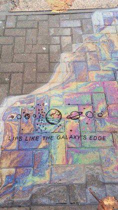 galaxy pavement