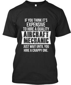 Limited Edition Aircraft Mechanic Shirt | Teespring