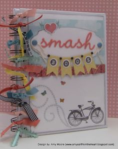Super-cute SMASH book using all #CTMH products