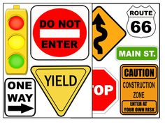 Printable Construction Signs | ... choice (hundreds to choose from)i.e. construction decals below
