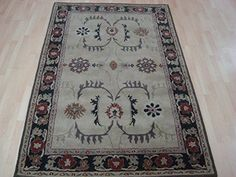 SG Imports Persian Fashion Hand Tufted 100% Wool Modern Large Rug 150x240cm (5x8') SG Imports http://www.amazon.com/dp/B01BQ1WJ0U/ref=cm_sw_r_pi_dp_3JQWwb021K28D