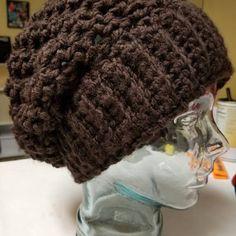 Crochet Hat Pattern - How To Crochet Tutorial Easy Crochet Patterns - Man Beanie Hat Womens Hats Womens Winter Hats Slouchy Beanie Beret Hat Slouchy Beanie Pattern, Crochet Slouchy Hat, Crochet Hats, Winter Hats For Women, Hats For Men, Mens Beanie Hats, Lion Brand Wool Ease, Crochet Hat For Women, Hat Size Chart