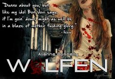 Gorgeous graphic created for Wolfen by Happi Anarky http://happianarky.wordpress.com