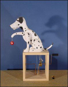 The Dalmatian with yoyo designed by Matt Smith