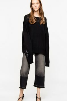 Rony Patch sweater  | Zadig & Voltaire