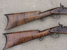 Sam Hawken Rifle | ... described is shown on these two original Sam Hawken marked rifles