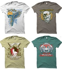 Ideas for embroidery tshirt ideas projects Create T Shirt Design, T Shirt Design Vector, Logo Design, Typography Design, Skull Motorcycle, Vintage T-shirts, Design Vintage, T Shirt Factory, Best T Shirt Designs