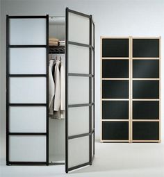 Closet Modern Closet Doors Interior Furniture Good Looking Frosted Glass Closet  Doors With Black Wooden Frames With Sweet Clothing Hanger Inside And Smart .
