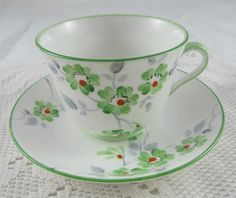 Phoenix China Hand Painted Tea Cup and Saucer with by TheAcreage