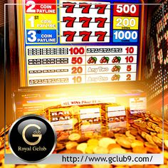 The first modern type video slot machine to be introduced into a brick and mortar was the Fortune Coin machine, which was introduced in 1975. You can play Slots online at casino www.gclub9.com! Sign up with us and enjoy other games you may like. Visit www.facebook.com/GClub9 now!