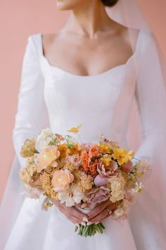 A bouquet that speaks. 🙌 With so many lovely flowers to choose from, @lamusadelasflores chose all the right ones to create this exquisite arrangement. 💐   LBB Photography: @josevilla #stylemepretty #weddingbouquet #springwedding #summerwedding Autumn Wedding, Spring Wedding, Wedding Bouquets, Wedding Dresses, Musa, One Shoulder Wedding Dress, Marie, Style Me, Bridal