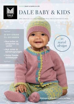 Line jakke, bukse, lue & sokker Baby Barn, Eco Baby, Knitting For Kids, Jumpers, Thor, Baby Kids, 21st, Crochet Hats, Pullover