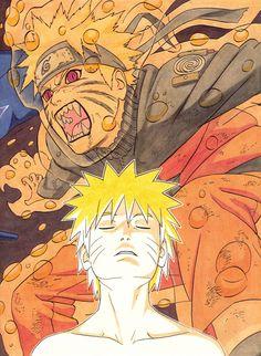 Naruto HQ Manga Poster