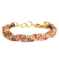 Vintage Sari Bracelet Malibu now featured on Fab.